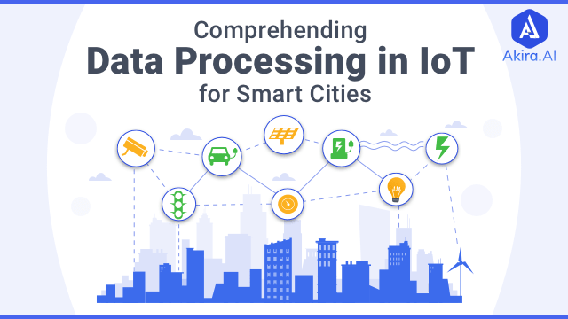 Architecture of Data Processing in IoT for Smart Cities