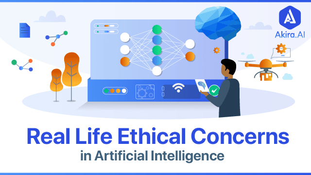 Real-Life Ethical Issues of Artificial Intelligence